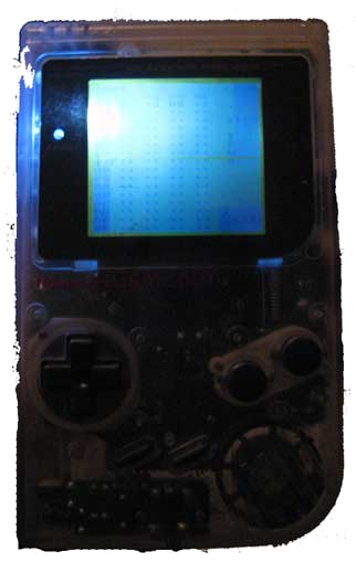 Backlit Gameboy